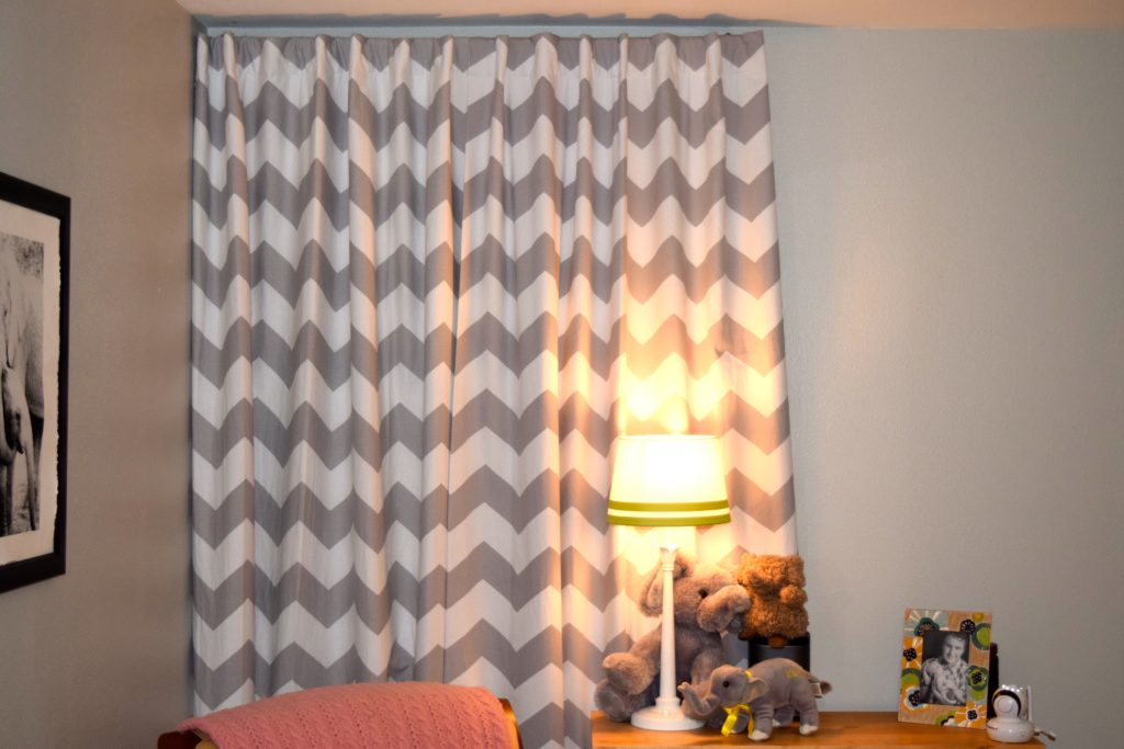 blackout curtains can dramatically improve the quality of your child's naps.