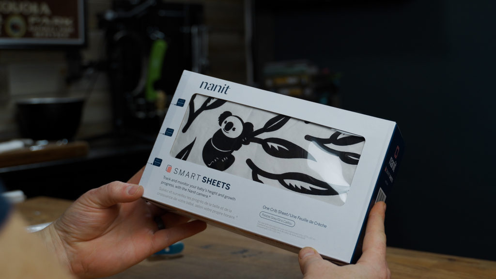 Nanit Smart Sheets in the box
